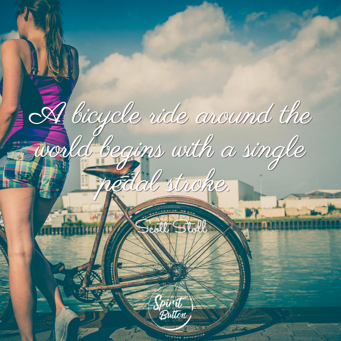 Learning to ride a bike quotes