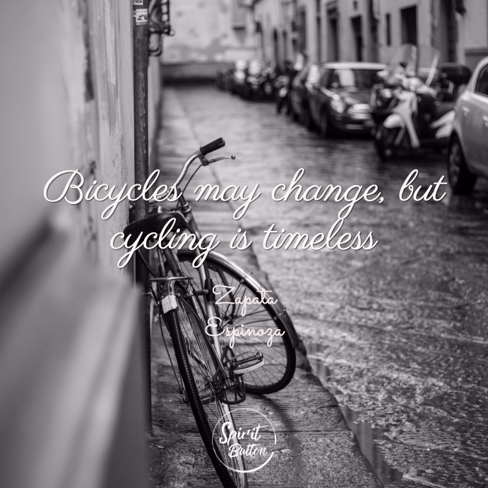 Bicycles may change but cycling is timeless