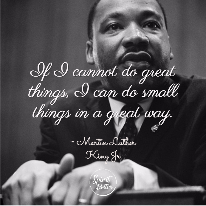 25 Mlk Quotes That Will Inspire You Spirit Button
