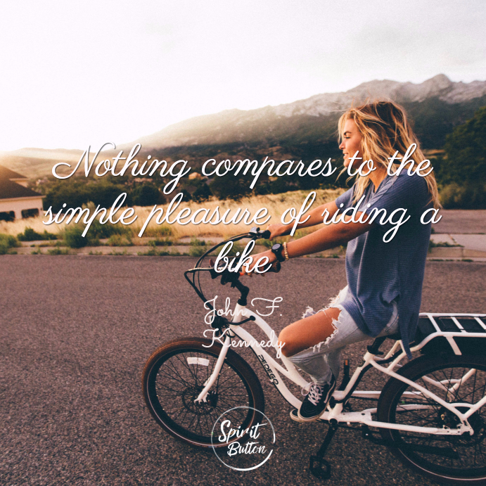 Cycling Quotes Custom 48 Cycling Quotes That Will Inspire You To Get Out Spirit Button