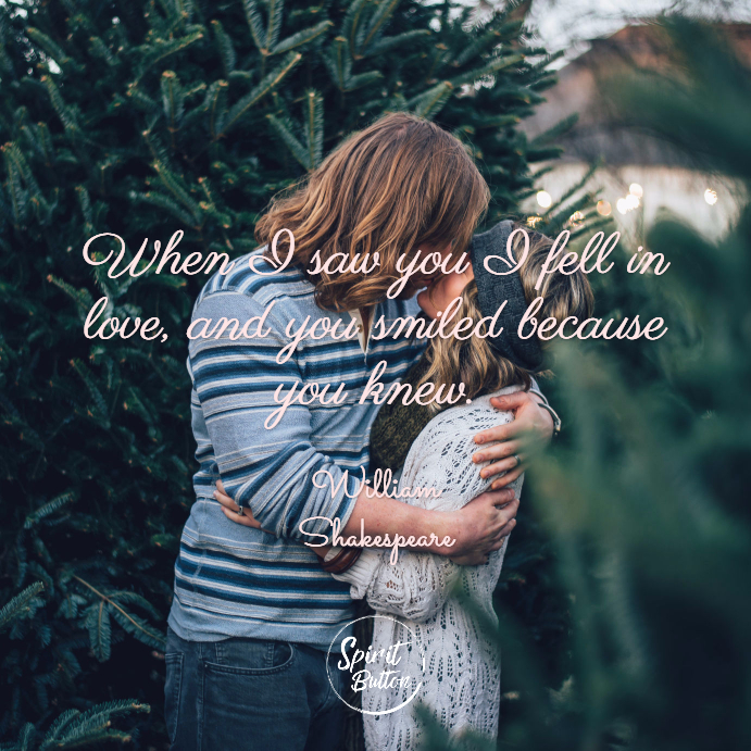 When I First Saw You I Fell In Love Quotes: 40 Super Cute Love Quotes For Her