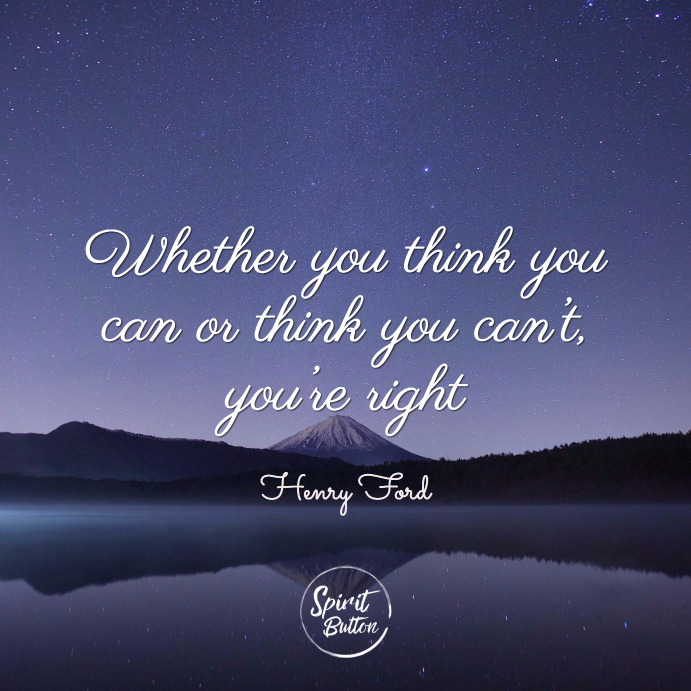 Quote Whether You Think You Can: 82 Inspirational Quotes That Will Motivate You To Succeed
