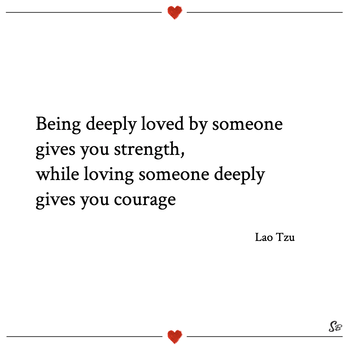 Quotes About Loving Someone Being Deeply Lovedsomeone Gives You Strength While Loving