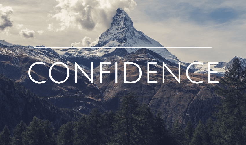 Confidence inspiring quotes