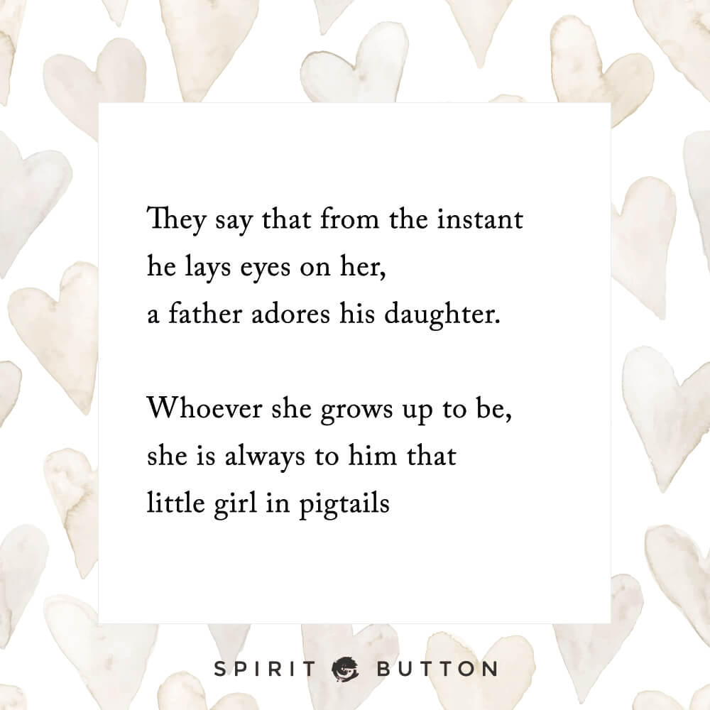 They Say That From The Instant He Lays Eyes On Her A Father Adores