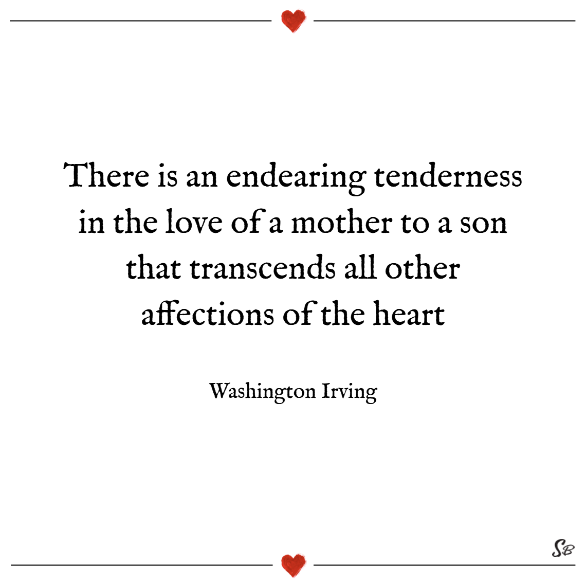 There Is An Endearing Tenderness In The Love Of A Mother To Son That Transcends