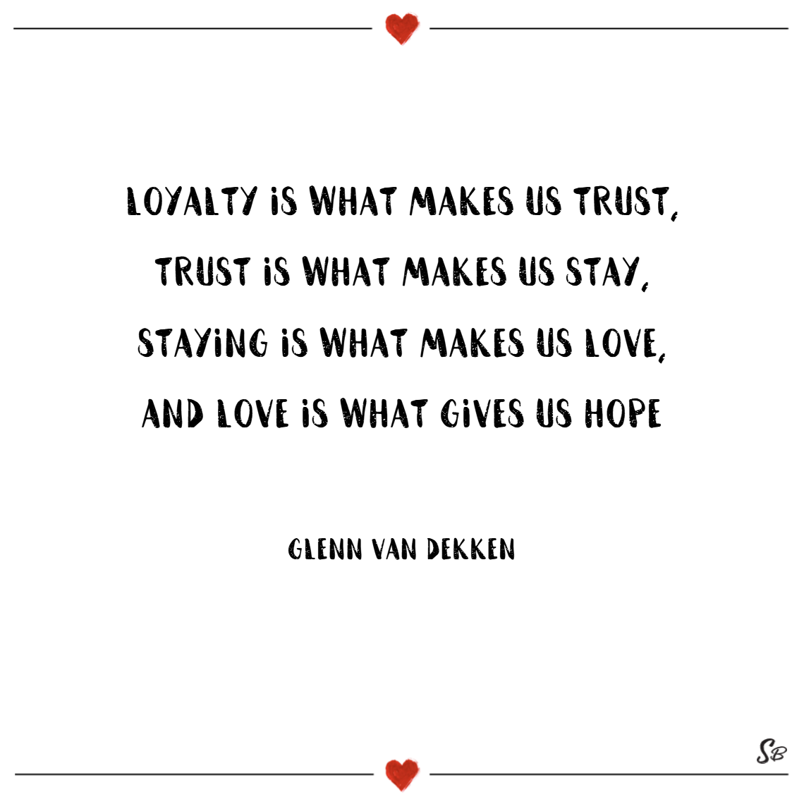 Quotes On Love And Trust 31 Amazing Loyalty Quotes On Friendship And Love  Spirit Button