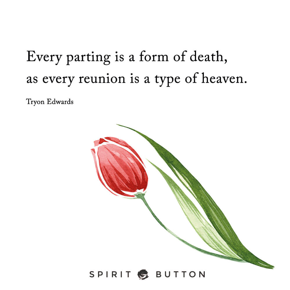 Short Quotes About Death Of A Loved One 31 Beautiful Goodbye Quotes To Help You Say Farewell  Spirit Button