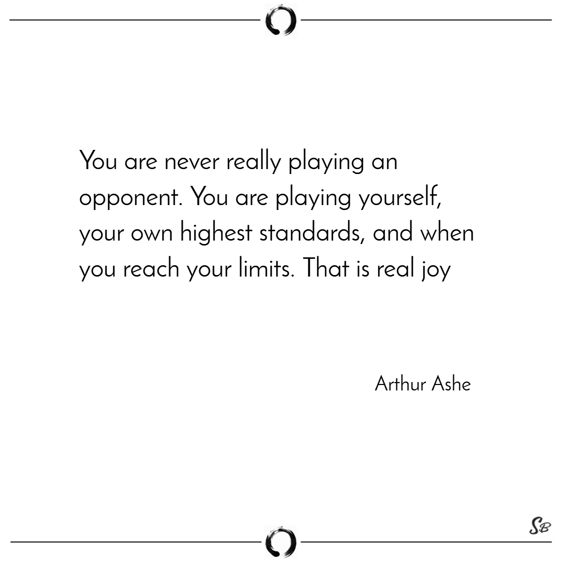 You are never really playing an opponent. you are