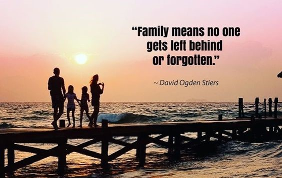 family no one gets forgotten