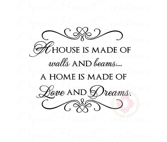 house is made of love