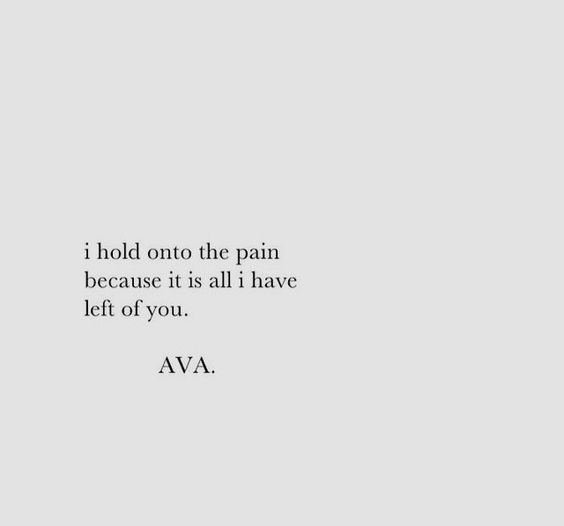 pain left of you