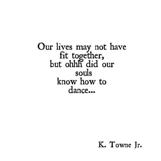 did our souls know