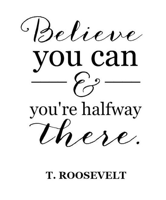 believe you can encouragement