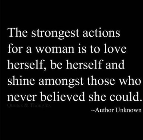 action strong women