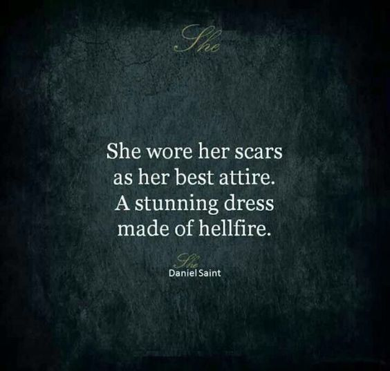 scars strong women