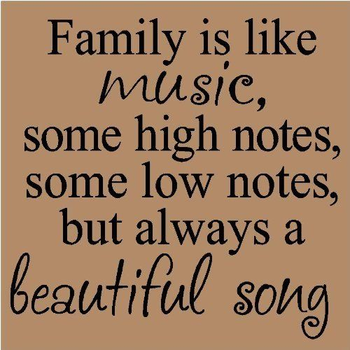 family like music
