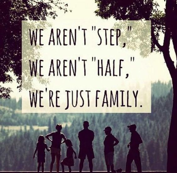 we're just family