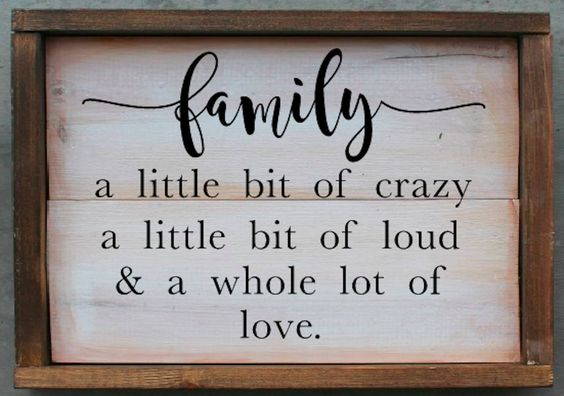best family quotes that say family is forever spirit button
