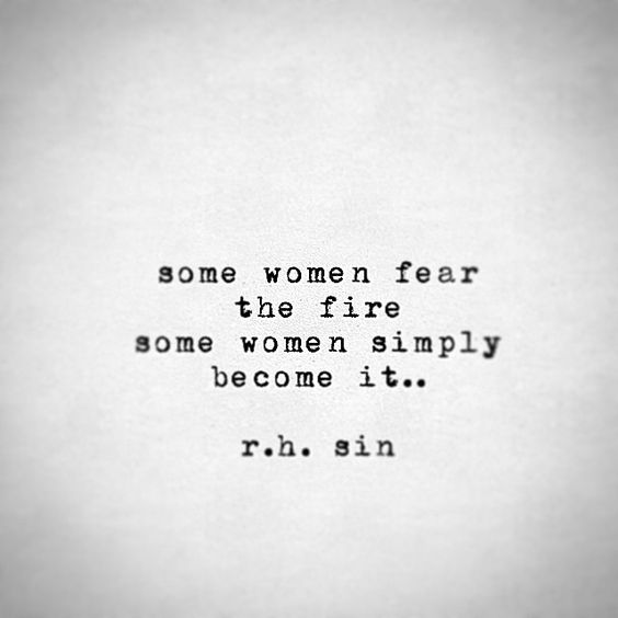 become the fire strength quotes