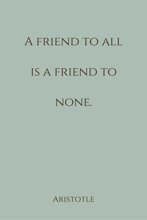 friend to all