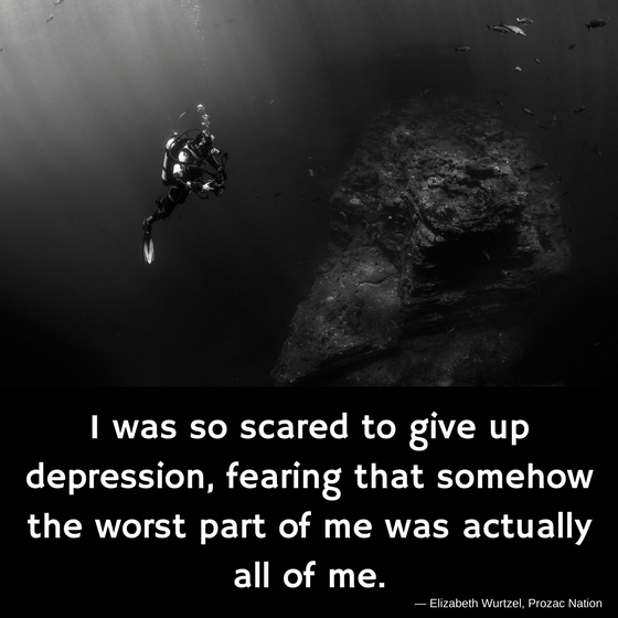 worst part of me was all of me depression quotes