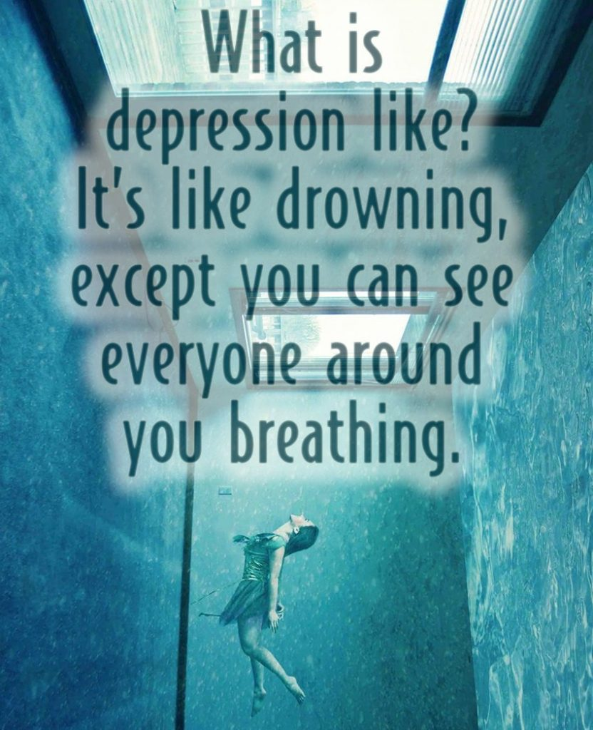 what is depression like depression quotes