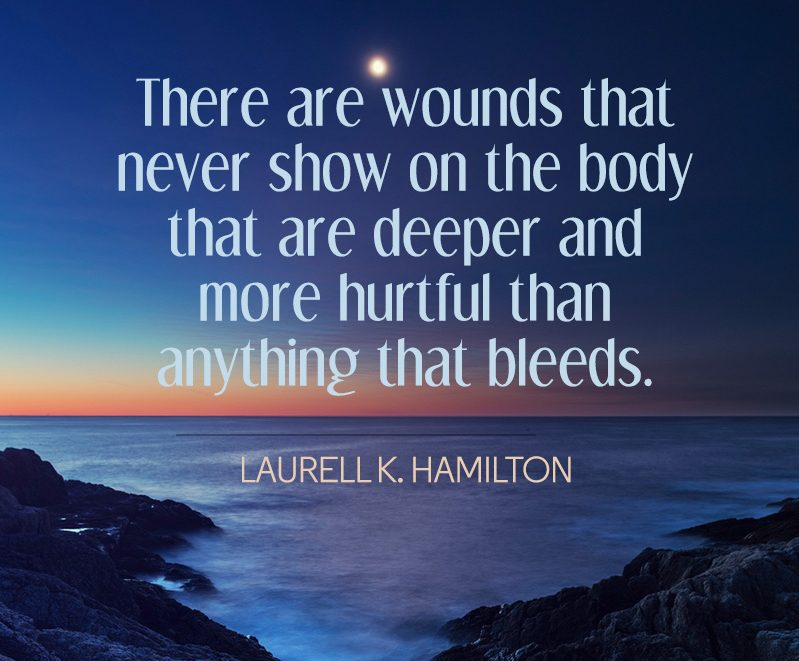 wounds deeper depression quotes