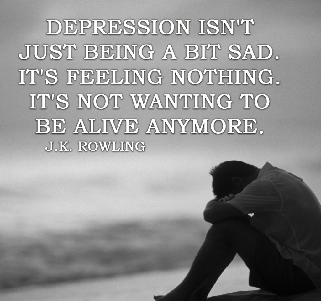 Really Sad Depression Quotes: 81 Depression Quotes To Help In Difficult Times