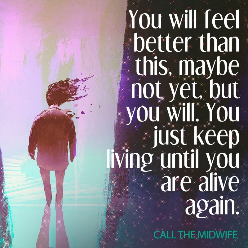alive again depression quotes