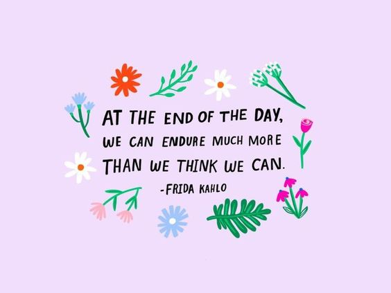 we can endure strength quotes