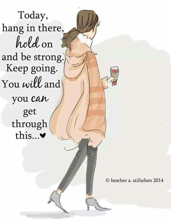 hold on be strong women quotes