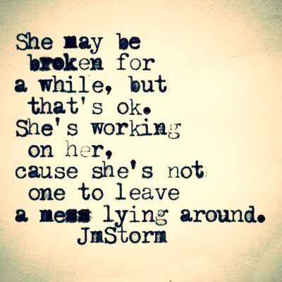 broken while strong women quotes